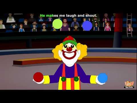 Circus - Nursery Rhyme with Lyrics & Karaoke