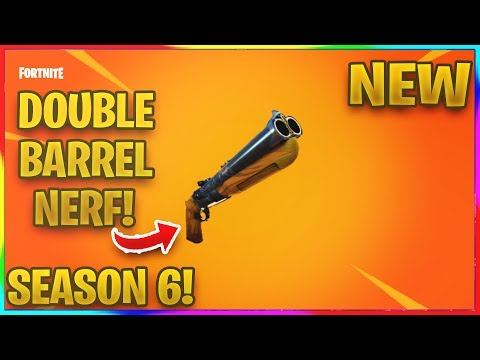 *NEW* THE DOUBLE BARREL IS GETTING NERFED IN SEASON 6! | Fortnite News