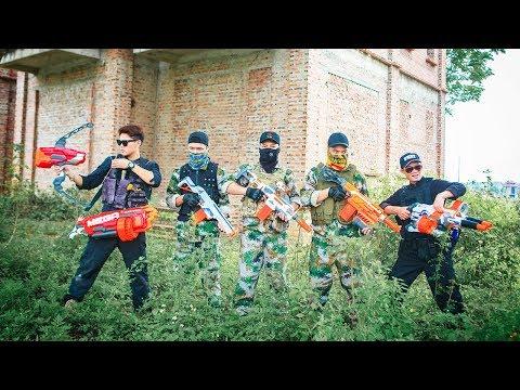 LTT Nerf War : SEAL X Warriors Nerf Guns Fight Group Of Dangerous Fools