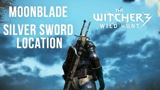 MOONBLADE - Powerful Silver Sword Location [Level 5] - The Witcher 3