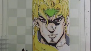 Drawing Dio from Jojo