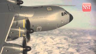 First Airbus A400M for Malaysia makes its maiden flight