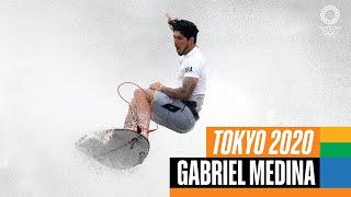 🏄♂️  The BEST of Gabriel Medina 🇧🇷  at the Olympics