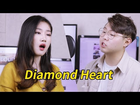 Alan Walker - Diamond Heart (feat. Sophia Somajo) acoustic Cover(커버) by. High Cloud.