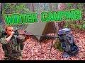 Winter Hammock Camping trip: Hit The Trail