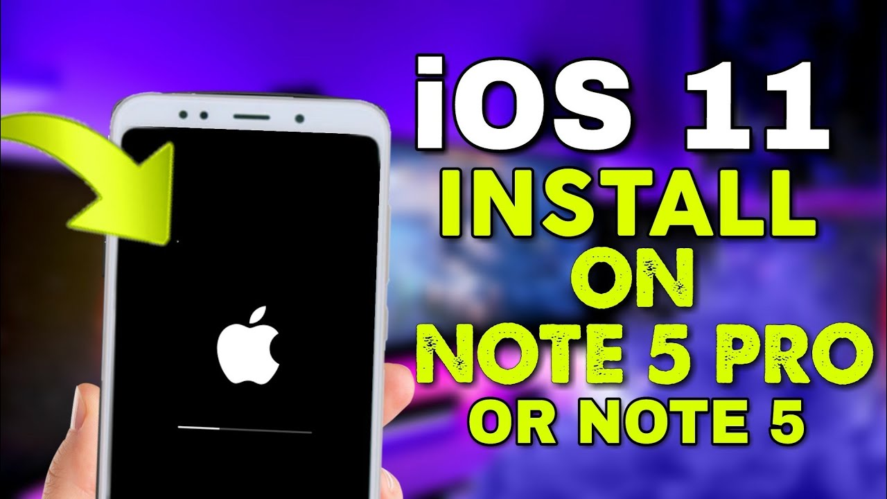 install iOS On REDMI NOTE 5 PRO/NOTE 5 Complete! iPhone System Update