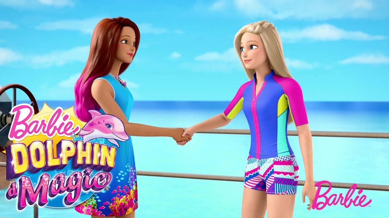 Barbie And Isla Make A Deal Dolphin Magic Barbie Youtube