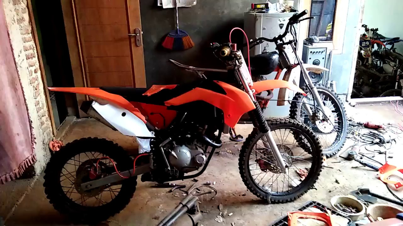 Modifikasi Jupiter Mx Model Ktm