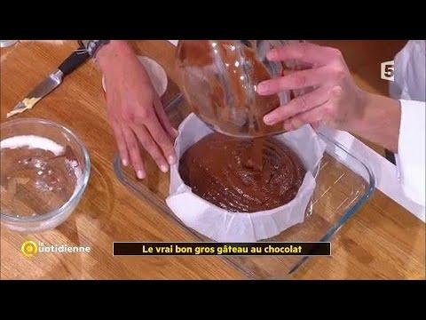 Coup Dfood Le Vrai Bon Gros Gâteau Au Chocolat Youtube