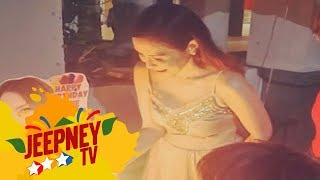 Jeepney TV: Janella Salvador comes back home to her mother Jenine Desiderio on her birthday