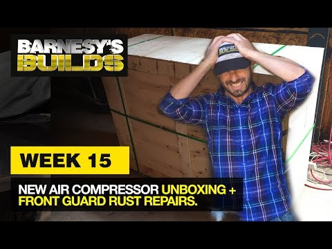 41ce5e2bf8b EPISODE 27  INSTALLING A LEFT HAND FRONT FLOOR PANEL ON A HQ HZ WB ...