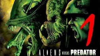 Aliens vs Predator 2 (2002) -  Чужой против Хищника: ч1 Охота. за Хищника