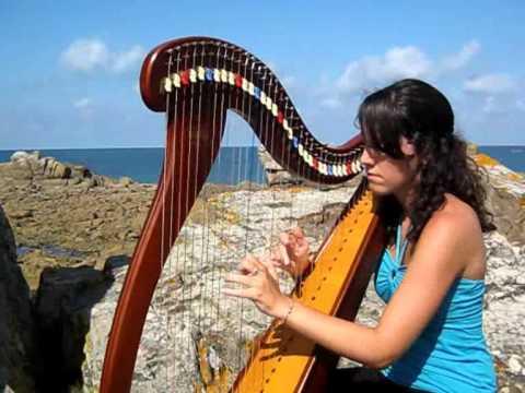 Irish ballad - Suite Irlandaise (Morrison's jig) - celtic harp / harpe celtique