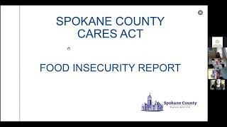 March 9, 2021 Spokane County CARES Act Food Insecurity Presentation