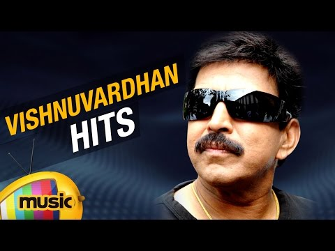 Top 10 Hits of Vishnuvardhan | Non Stop Kannada Hits | Vishnuvardhan Video Songs