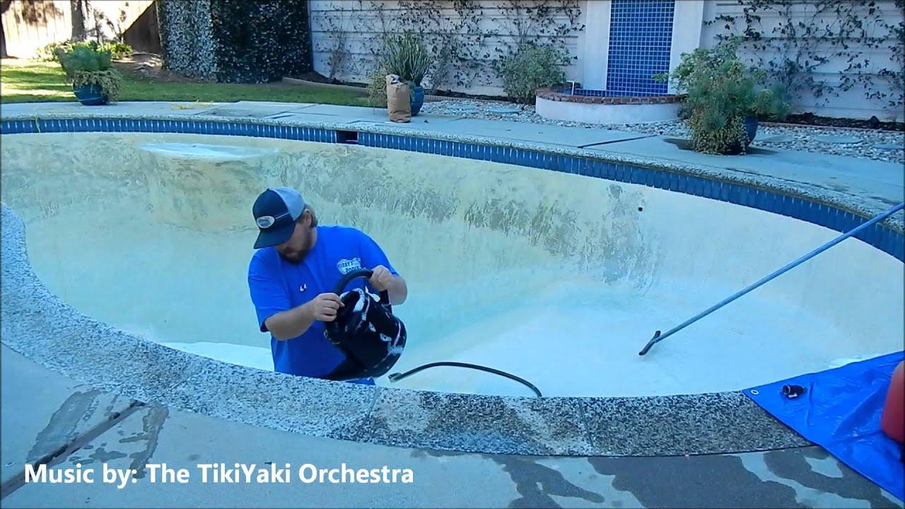Acid Wash Pool Service : Acid wash pool kirby s service repair youtube