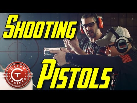 How to Shoot a Pistol [Comprehensive Concealed Carry Handgun Training Video] | Episode #29 (4K)