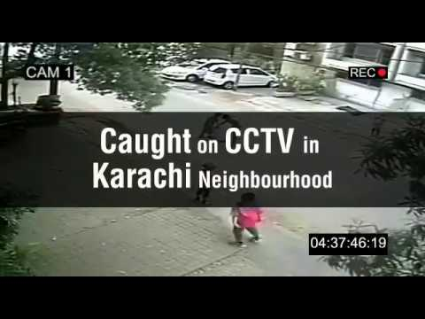 Live Child Kidnapping CCTV Footage   Karachi Pakistan