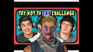 Try Not To Cry Challenge | Fortnite Battle Royale