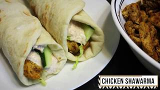 Homemade Chicken Shawarma Recipe-Easy Shawarma Recipe By Cook with Madeeha