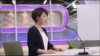 2015年8月某日のお昼のニュースで、新人の諸國 沙代子アナウンサーがは...