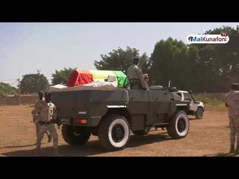 Mali/Le Cortège Funèbre d'Amadou Toumani TOURE(ATT)