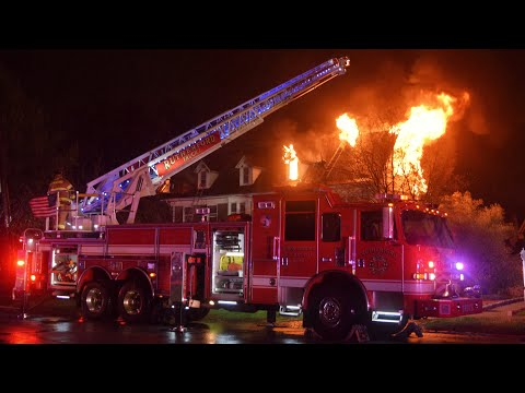 Police: 6 People Displaced In Rutherford House Fire Ignited By Lightning (VIDEO)
