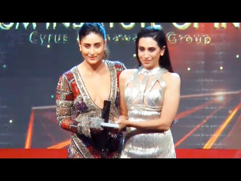 Kareena Kapoor and Karishma Kapoor at Vogue Women of The Year Awards 2018 | Style Icon of The Year
