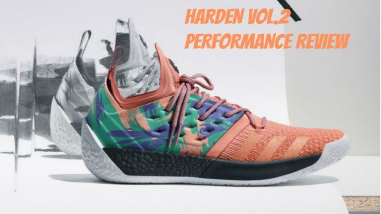 0da59d34e41 Adidas Harden Vol 2 Performance Review !! - YouTube