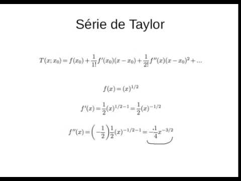 Calculo I Serie De Taylor E Integrais Youtube