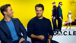 Top Billing meets the stars from The Man from U.N.C.L.E | FULL INSERT