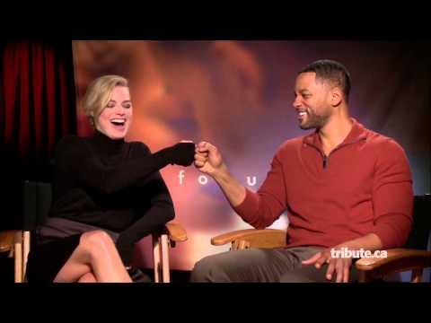 Will Smith & Margot Robbie - Focus Interview HD