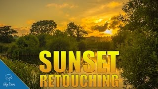 RETOUCHING A SUNSET with Lightroom and Photoshop #55