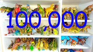 Learn Dinosaur Names - Kids Dinosaurs 100 000 Subscribers Special
