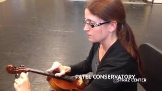 Patel Conservatory - How to Change a Violin String