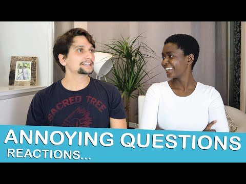 REACTING ANNOYING QUESTIONS INTERRACIAL COUPLES GET ASKED! Racism And  Ignorance - Lempies