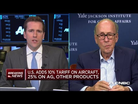 US tariffs on EU small change compared to China: Stephen Roach