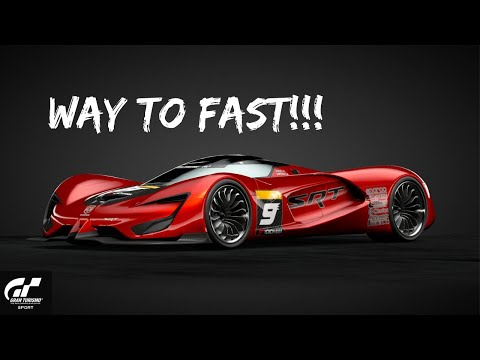 SRT Tomahawk X VGT WAY TOO FAST!! Gran Turismo Sport PS4 Gameplay