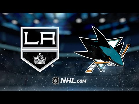 Kopitar scores twice in 4-1 win against Sharks