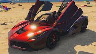 GTA 5 LaFerrari Mod Showcase & Crash Testing!
