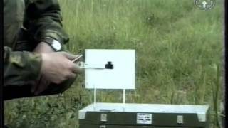 Стрельба из боевого оружия. Обучение прицеливанию с помощью К Я АК .