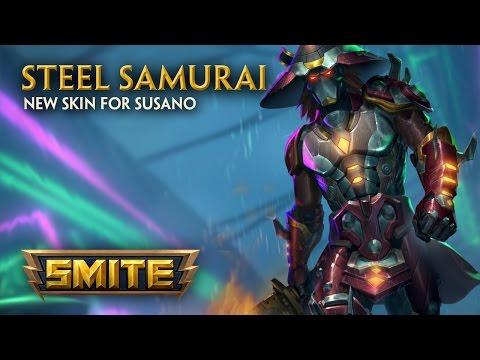 SMITE - New Skin for Susano - Steel Samurai