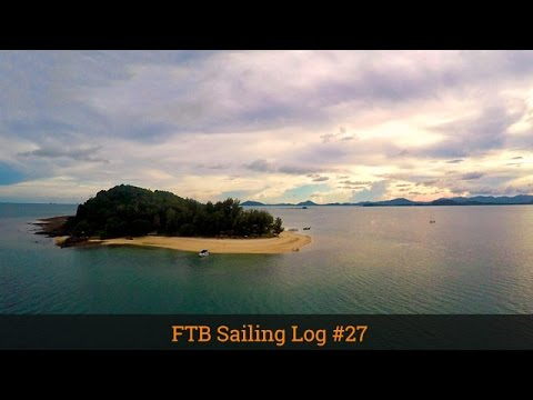 PARADISE TROPICAL ISLANDS ON A SAILBOAT. Ep 27