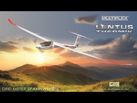 MULTIPLEX LENTUS – das leistungsfähigste ELAPOR-Segelflugmodell aller Zeiten!