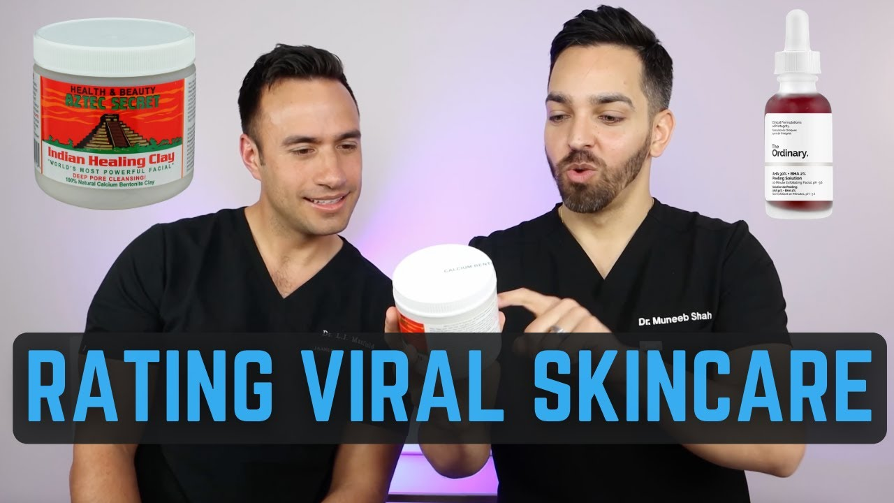 Viral Skincare: Ordinary Peeling Solution, Aztec Clay Mask, CeraVe Healing Ointment, Nizoral Shampoo