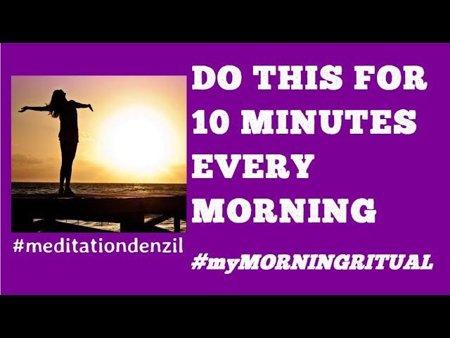 🆕10 Minute Guided Meditation For Positive Energy👉 Positive Affirmations Morning Meditation Must Se