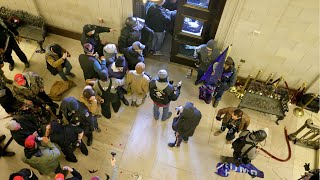 video: Chaos and fear: Footage reveals what happened inside the Capitol
