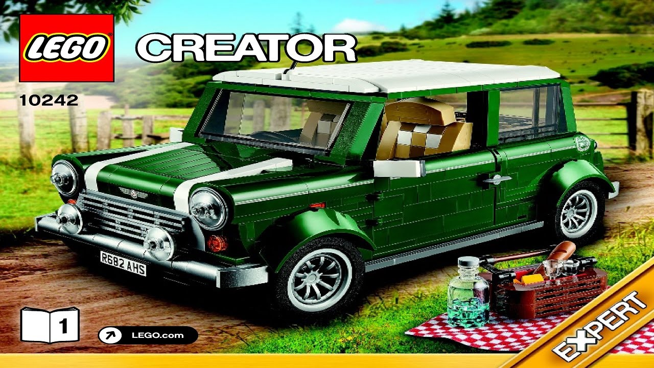 10242 LEGO MINI Cooper Creator Expert (Instruction booklet ...