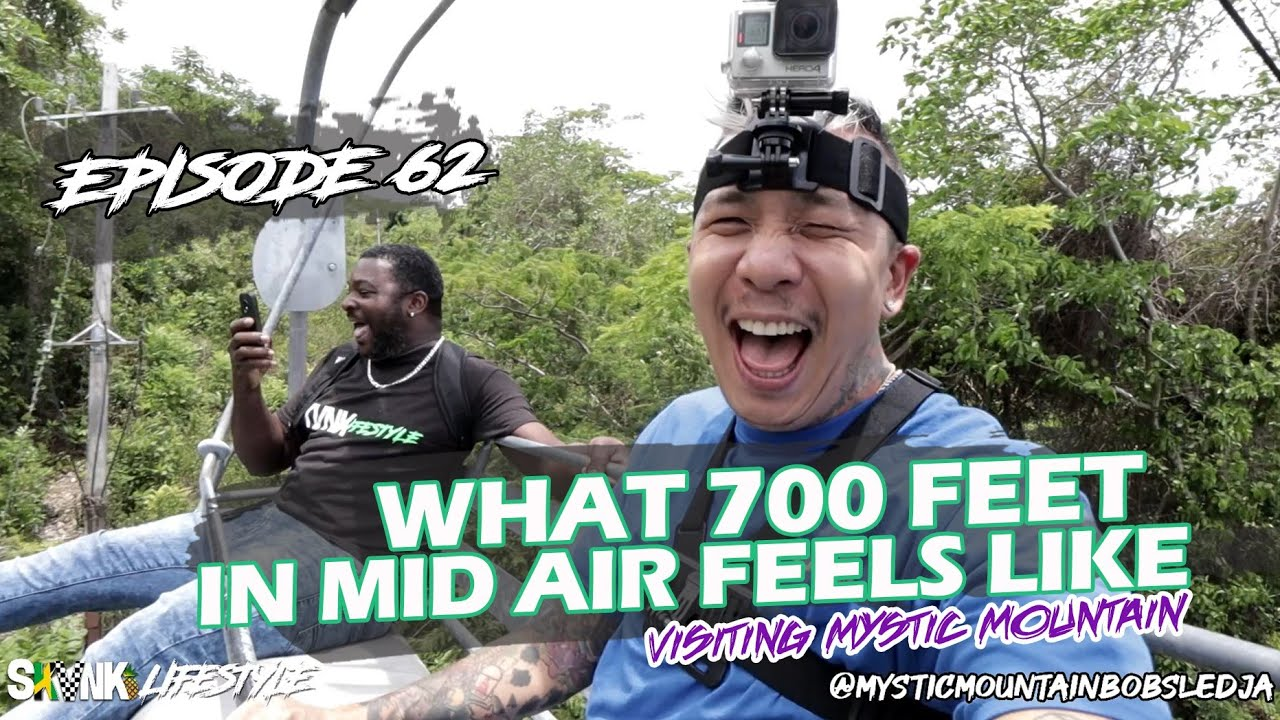 What 700 Feet in Mid-Air Feels Like (Visiting Mystic Mountain) - SKVNK LIFESTYLE EPISODE 62
