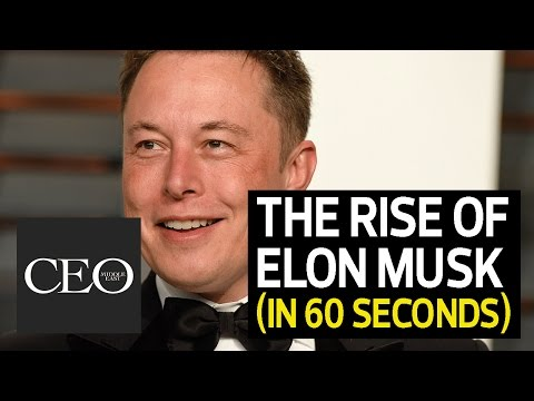 The rise of ELON MUSK (in 60 seconds or less)